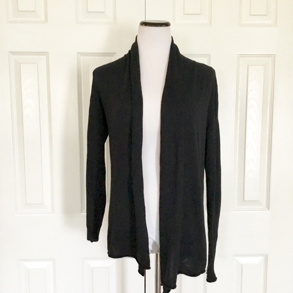 JCP Black wool blend cardigan